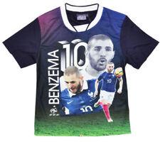 Camisas y camisetas de niño de 2 a 16 años de color principal azul