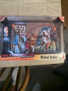 1999 Michael Jordan Then & Now Collection 4 Figures