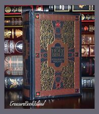 Holy Bible King James Version Gustave Dore Sealed Leather Bound Collectible Gift