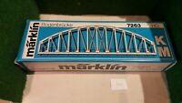 MARKLIN échelle ho tablier de pont plastique en arc réf : 7263
