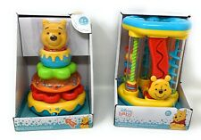 Disney Baby Winnie the Pooh Activity Center & Stacking Rings -  6+ Months