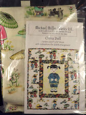 Quilting Kit China Doll Michael Miller Fabrics 18 x 24 Block Toni Smith Unused