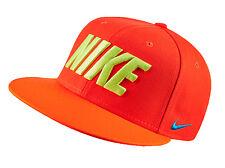 NIKE True FB Field General Snapback Cap Adult One Size Adjustable Total Orange