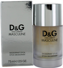 Masculine By Dolce & Gabbana For Men Deodorant Stick 2.5oz New