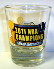 DALLAS MAVERICKS 2011 NBA CHAMPS SHOT GLASS #1  NEW