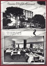 FORLÌ CESENATICO 18 HOTEL ALBERGO - VEDUTINE Cartolina PUBBLICITARIA FOTOGRAFICA