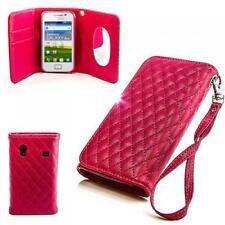 Handy Tasche Etui Schutz Hülle Samsung Galaxy Ace S5830 S5830i Pink Case Cover