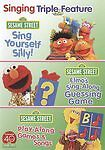 Singing Triple Feature: Sing Yourself Silly/Elmo's Sing-Along Guessing Game/Play