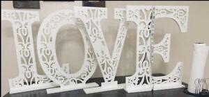 LOVE Letters Decoration
