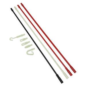 Klein Tools SRS56038 Polymer Fish Rod Set Glow-in-The-Dark