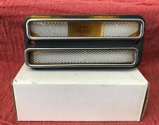 OEM 1968-72 Chevy GMC Truck Blazer Amber Side Marker Light Turn Signal Patina