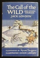 The Call Of The Wild And Other Stories By Jack London Illust Kyuzo Tsugami 1965