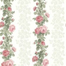 Wallpaper Claremont Rose Stripe Pink Wall Paper BHF FD68735 Brand New