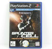 Tom Clancy's Splinter Cell Pandora Tomorrow PS2 PlayStation 2 PAL Complete