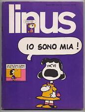 LINUS 1 anno X 1974 peanuts feiffer dino battaglia dr. jekill e mr. hide cuore
