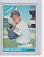 Bob Allison 1966 Topps Baseball Card #345 (A)