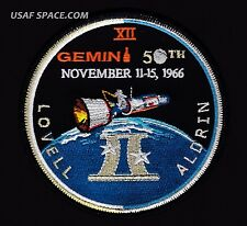 GEMINI 12 50th ANNIVERSARY Commemorative Tim Gagnon NASA SPACE PATCH - MINT