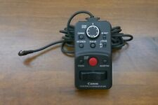 Canon ZR-2000 Zoom Camcorders Remote Controller Control-L Lanc - Fast Free Ship