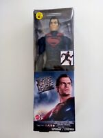 NEW SUPERMAN STEALTH SUIT JUSTICE LEAGUE 12 INCH ACTION DC FIGURE MATTEL BNIB