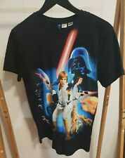 STAR WARS Official Divided by H&M T-Shirt Size XS Classic Retro Graphic