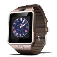 Women Men Smart Watch Fitness Tracker Sleep Monitor Rose Gold Sport Bracelets