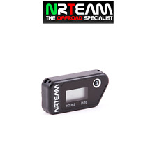 NRTEAM CONTAORE WIRELESS CROSS ENDURO VIBRAZIONE MOTO NERO per Polaris
