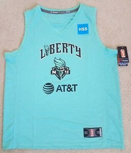 SABRINA IONESCU OFFICIAL WNBA LICENSED NY LIBERTY REPLICA JERSEY SIZE LARGE