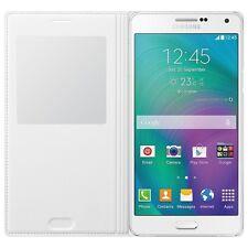 Officiel Samsung Galaxy A7 S View à clapet couverture étui Blanc EF-CA700BWEGWW