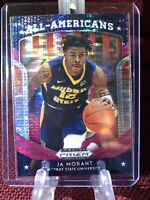 Ja Morant 2019 Panini Prizm Draft Picks All American Pink Pulsar #44 ROY SP RC