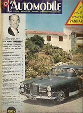 L'AUTOMOBILE 159 1959 24H DU MANS 1959 PANHARD PL17 RENAULT FLORIDE ESTAFETTE