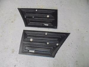 ford cortina mk2 ,,,rear door cards .... in good order for year