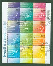 Niederlande Nederland 2008 - Sternbilder des Tierkreises - 2588-99 gestempelt