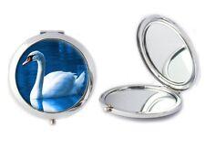Pájaro De Cisne Espejo Compacto Ideal Damas cumpleaños regalo de Día de las madres T7