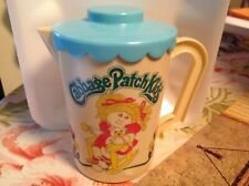 Vintage 1984 Cabbage Patch Kids Plastic Toy Pitcher & Lid~Made in Italy~Doll~Exc