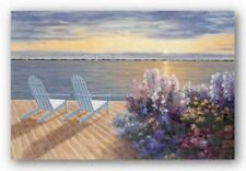 Deck View Diane Romanello Seascape Art Print 36x24