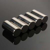 5-100 Stück N50 Starke Erde Neodym Magnete 10x20mm Runde Zylinder Magnet