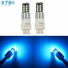 2 x High Power Ice Blue 3156 3157 15SMD Reverse Backup DRL Lights LED Bulbs US
