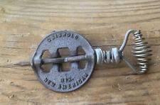 """Vintage Griswold New American 3"""" Cast Iron Steel Spindle Reversible Damper Flue"""