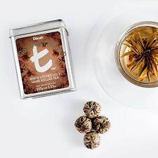 DILMAH CEYLON WHITE TEA - WHITE LITCHEE NO.1 HAND ROLLED TEA