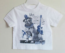 New THE CHILDREN'S PLACE Boy Size 6-9 Months White The K9's Short Sleeve T-Shirt