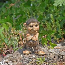 Troll Crossed Arms Sculpture Small Figurine Indoor Outdoor Garden Magic 80003