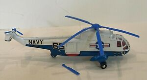 NICE TOY!  Dinky 1/32 vintage Helicopter Sea King. Die Cast Apollo
