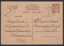 Carte Interzone 0,90 Iris Départ du «Chantier de Jeunesse» de St LAURENT DU PONT