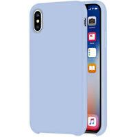 [iGuard] Liquide Étui en Silicone Pour Apple IPHONE Xs 10S Housse TPU Bleu Ciel