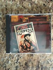 Tex Ritter The Country Music Hall Of Fame CD