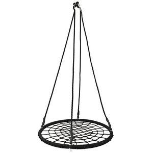 "40"" Spider Web Tree Net Large Swing Outdoor Hanging Play Toy PE Rope EZ Setup"