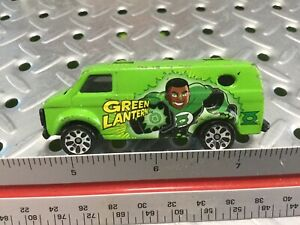2006 Matchbox Chevy Van Green Lantern