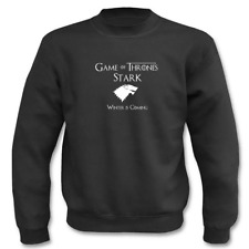Herren Pullover I Game of Thrones I Winter is coming I House Stark I bis 5XL