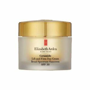 CERAMIDE Elizabeth Arden Lift and Firm Day Cream Broad Spectrum Sunscreen SPF 30
