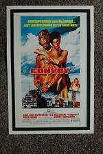 Convoy Lobby Card Movie Poster Kris Kristofferson
